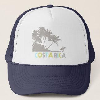 Souvenir för strand för Costa Rica surfarear Truckerkeps