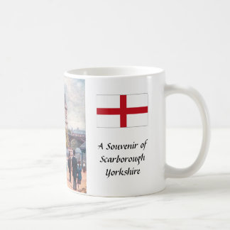 Souvenirkaffemugg - Scarborough, Yorkshire Kaffemugg