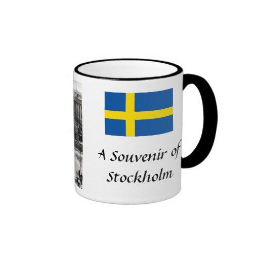 Souvenirkaffemugg - Stockholm, sverige Mugg