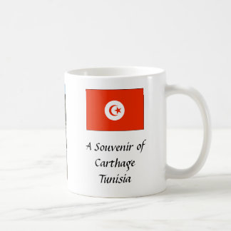Souvenirmugg - Carthage, Tunisia. Kaffemugg