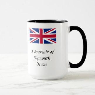 Souvenirmugg - Plymouth, Devon