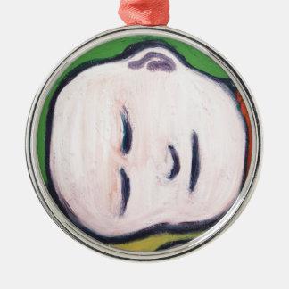 Sova babyen Buddha (buddismpopkonst) Julgransprydnad Metall