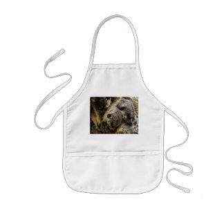 Sova babyen Meerkats i hundhög Barnförkläde