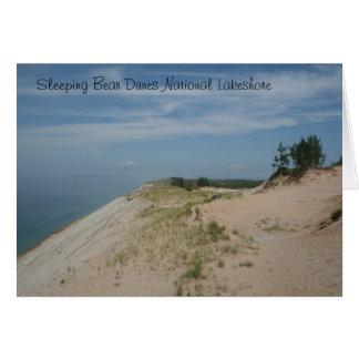 Sova björndynmedborgare Lakeshore Notecard OBS Kort