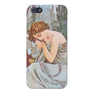 Sova den härliga kvinnan iPhone 5 cover