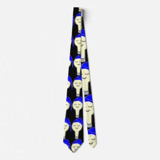 Sova den ljusa kulatien slips