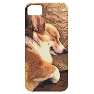 Sova den walesiska Corgihunden för Pembroke iPhone 5 Case-Mate Skal