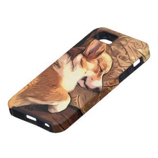 Sova den walesiska Corgihunden för Pembroke Tough iPhone 5 Fodral