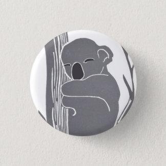 Sova koalaen knäppas mini knapp rund 3.2 cm