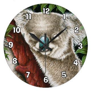 Sova Koalaväggen ta tid på Stor Klocka