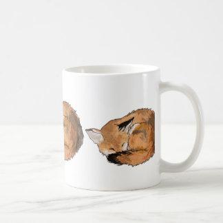 Sova räven kaffemugg