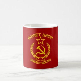 Sovjet - facklig prickskyttSquad Kaffemugg