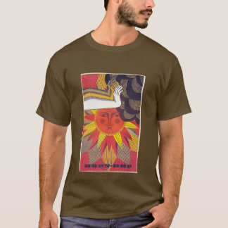 Sovjetisk fred till världen t-shirt