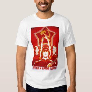 Sovjetisk propaganda WW1 T-shirt