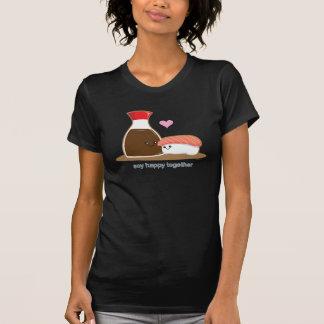 Soylycklig tillsammans t-shirts