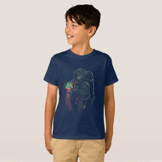 Spaceman i geléutrymme t-shirt
