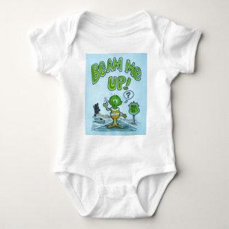 "Spacemanen ""strålar upp mig! "", t-shirt"