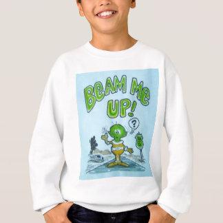 """Spacemanen """"strålar upp mig! """", tröja"""