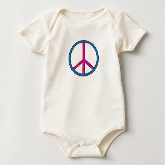 Spädbarn - fredstecken body för baby