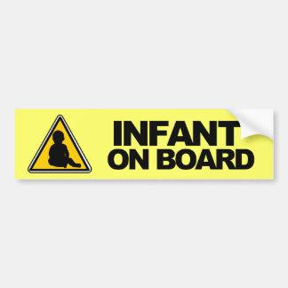 Spädbarn ombord bildekal