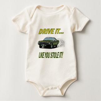 """Spädbarnrankan med """"drev gillar det, dig stal det! bodies"""