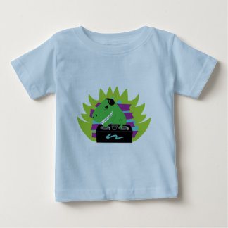 SpädbarnT-tröja för Dj-asaurus Rex Tröjor