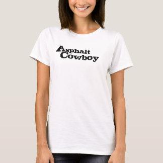 "Spagetti för damer för asfaltCowboy""AC"" inpassad Tshirts"