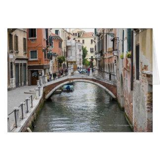 Spång i Venedig Hälsningskort