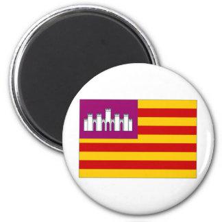 Spanien Balearic Island flagga Magnet