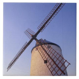 Spanien Consuegra, Castile-La Mancha Windmills 2 Kakelplatta