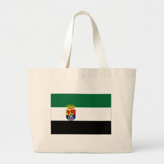 Spanien Extremadura flagga Jumbo Tygkasse