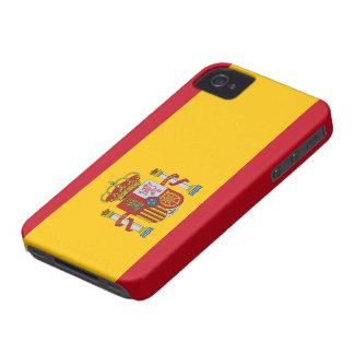 Spanien flagga iPhone 4 Case-Mate skydd