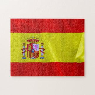 Spanien flaggapussel pussel