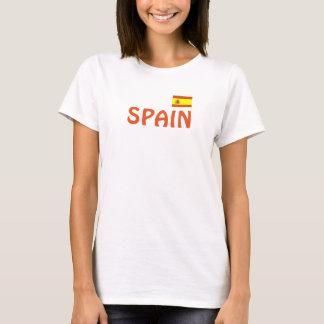 Spanien idrotts- designskjorta t shirt