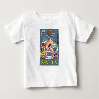Spanien Seville festivalaffisch 1960 Tee Shirts