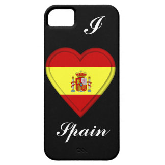 Spanien spanjorflagga iPhone 5 Case-Mate skal