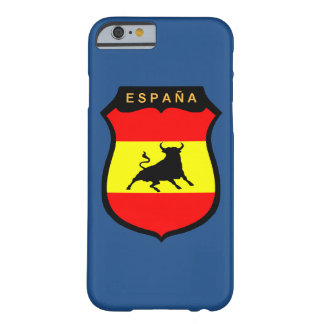 Spanien tjurflagga barely there iPhone 6 fodral