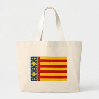 Spanien Valencia flagga Tygkasse