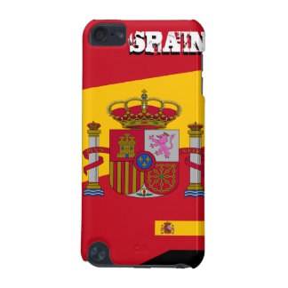 Spanien vapensköld & flaggaipod touch case iPod touch 5G fodral