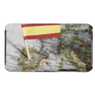 Spanjorflagga i karta iPod touch cases