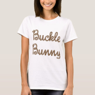 Spänna fast kaninen tee shirt