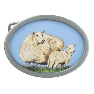 spänner fast det djura bältet för två får