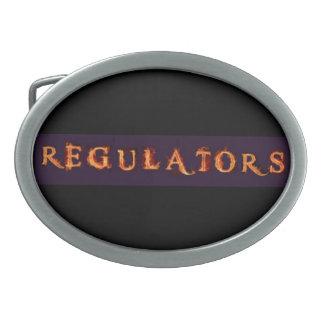 Spänner fast det ovala bältet för regulatorer