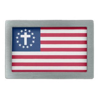 Spänner fast det patriotiska kristna bältet för