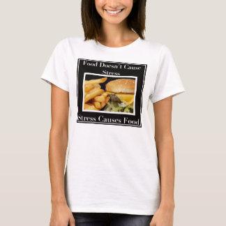 Spänningen orsakar mat! tshirts