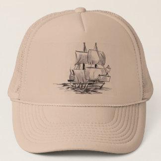 Spansk hatt för spansk gallionfraktkonst keps