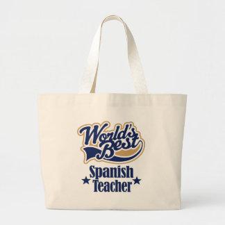 Spansk läraregåva för (bäst världar) tygkasse