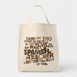 Spansk läraregåva mat tygkasse