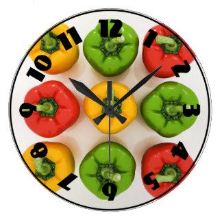 Spansk peppar tar tid på stor klocka