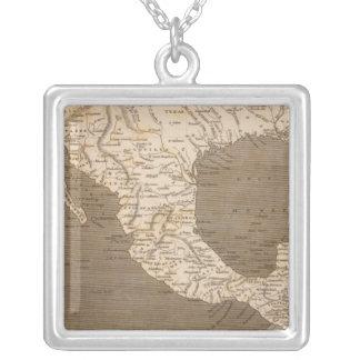 Spanska herraväldear i Nordamerika Halsband Med Fyrkantigt Hängsmycke